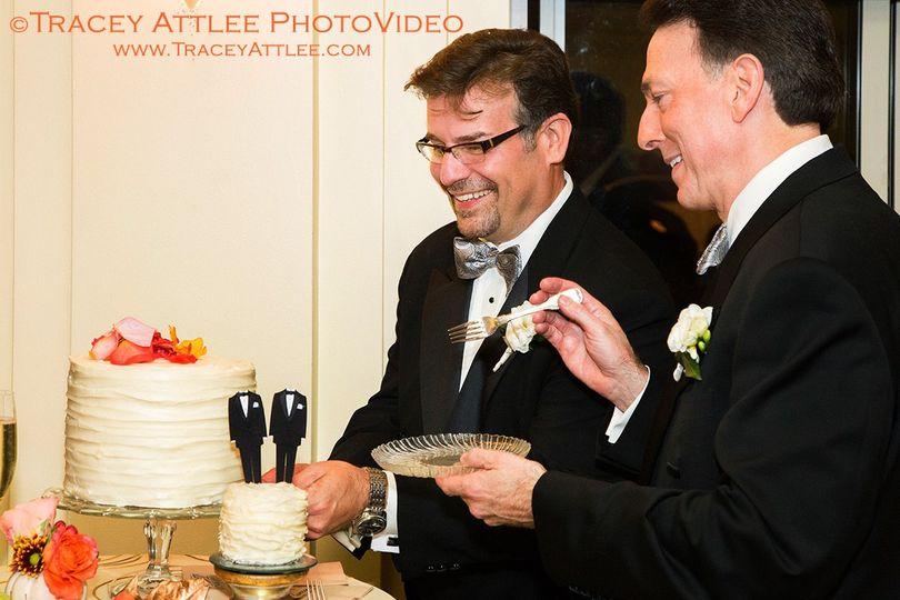 DC Gay Wedding, Cake Cutting