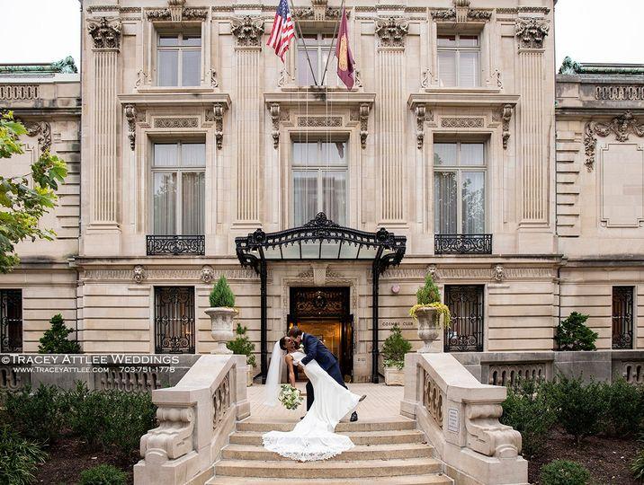 DC Wedding, Their First Dip