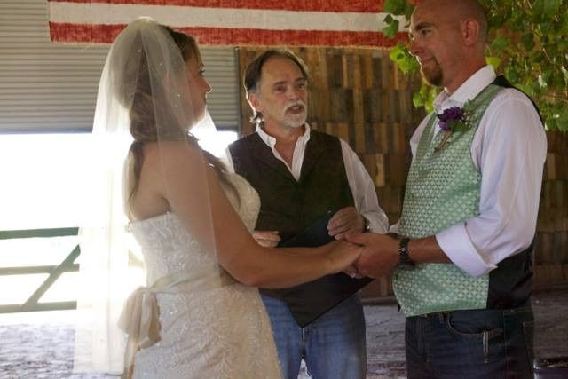 Ashleigh and Jason Dunham, September 13, 2014 at the Gulf Trails Riding Stables.