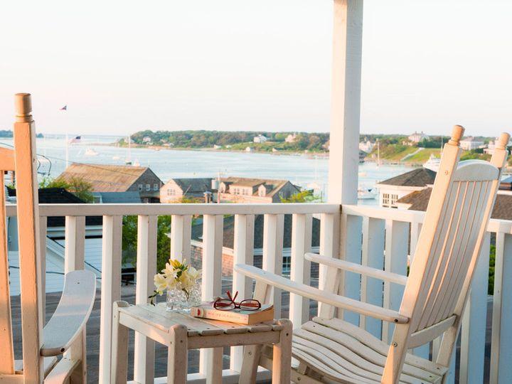 Tmx 1435694862111 Luxury Suite Porch Harbor View Edgartown wedding travel