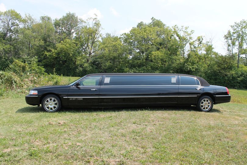 8 passenger Black Lincoln Town Car Limousine. This traditional and elegant limousine is perfect for...