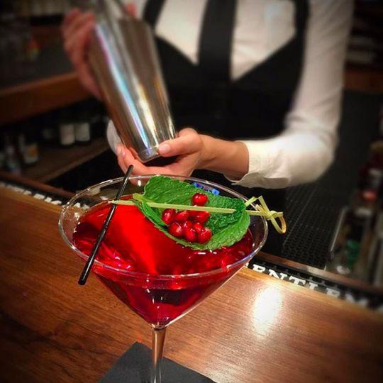 Red cherry drink
