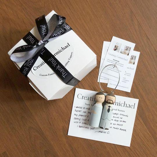 Personalized Wedding Keepsake