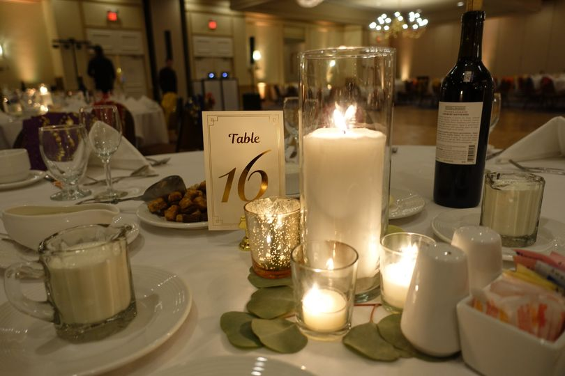 Table and Candles