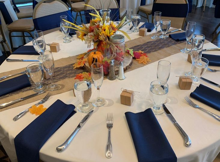 Fall table scheme