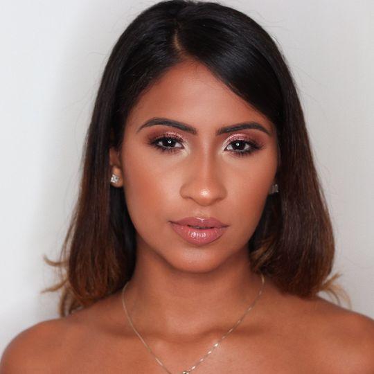 Glowing bride - Simonet Makeup
