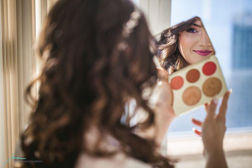 Finishing touches - Simonet Makeup