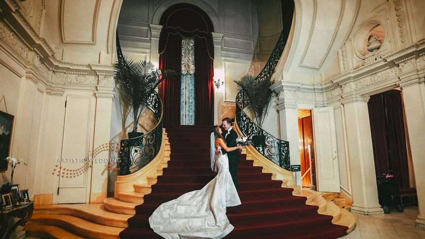 Rosecliff Mansion Stairs