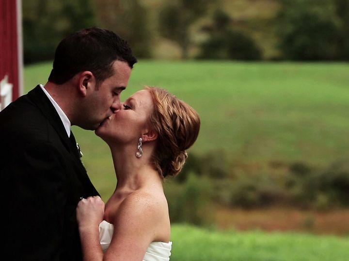Tmx 1420607745029 Cyndi  Justin Kissing On Barn New Bedford wedding videography