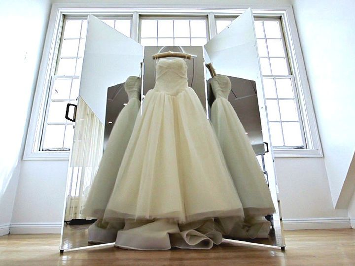 Tmx 1420607790195 Dress With Mirror New Bedford wedding videography