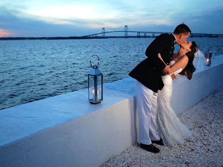 Tmx 1420608005032 Kiss Outside Sunset Ws New Bedford wedding videography