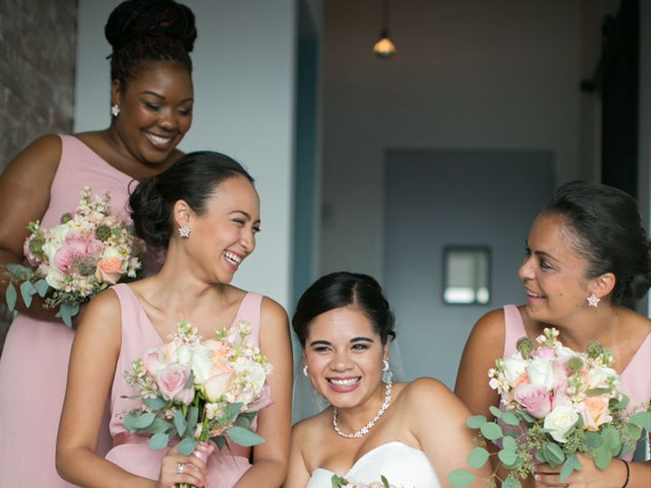 Tmx 1461275985070 Bridesmaids At My Moon Brooklyn wedding florist