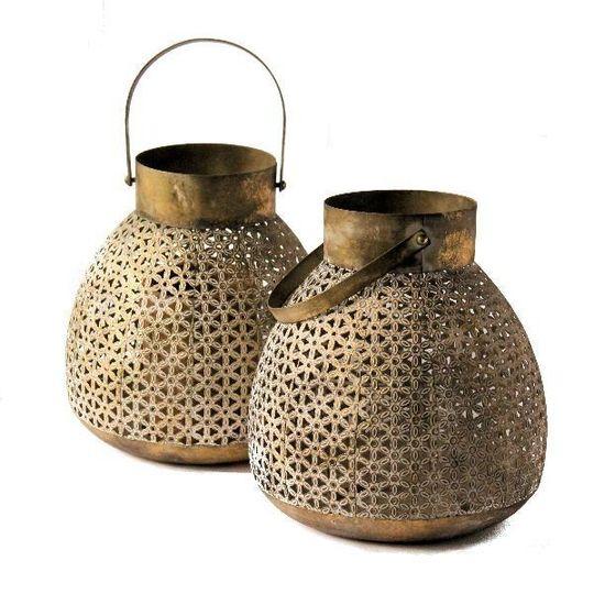 ex large brass lanterns