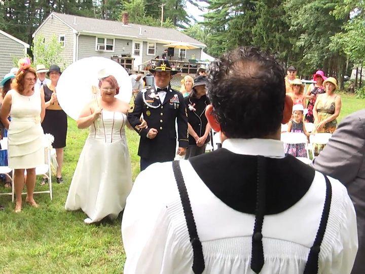 Tmx 1422925462089 4 Behind Pastor North Dartmouth wedding videography