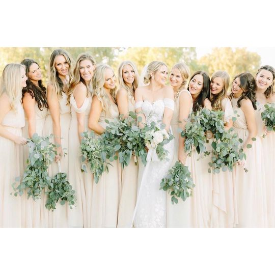 Greenery Mixed Bouquets
