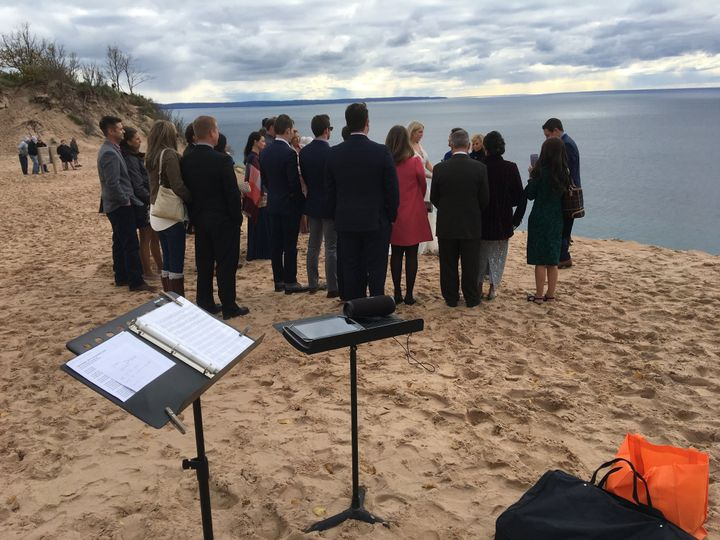 Wedding at Sleeping Bear Dunes