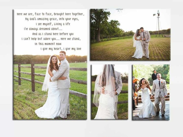Tmx 1458055926339 4 Piece Canvas Package Wall Art Canvas Easton wedding favor