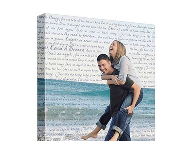 Tmx 1458055936432 Canvas Photo Wedding Engagement   Copy Easton wedding favor