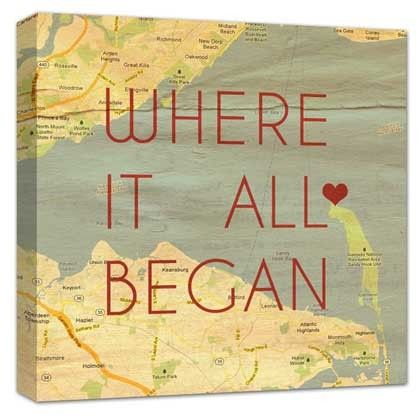 Tmx 1458056361593 Quotes On Maps Place Met Canvas Art Copy Easton wedding favor