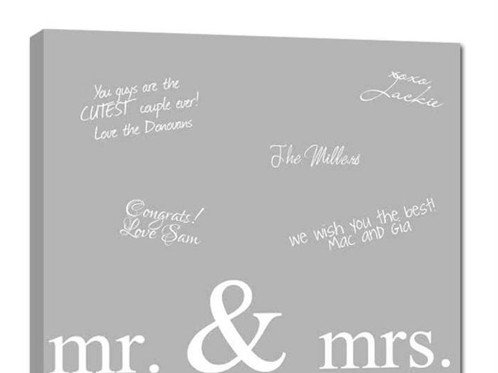 Tmx 1458056365091 Reception Signature Canvas Sign For The Wedding Easton wedding favor