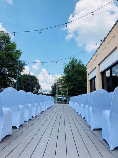 Outdoor Deck Ceremony