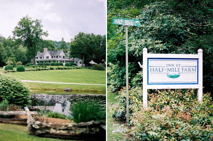 The Inn At Half Mile Farm Venue Highlands Nc Weddingwire