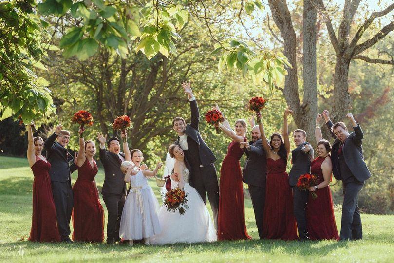 Fall wedding Barn @ Boones da