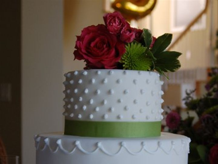 Tmx 1281052063314 GreenRibbonCake01 Ramona, CA wedding cake