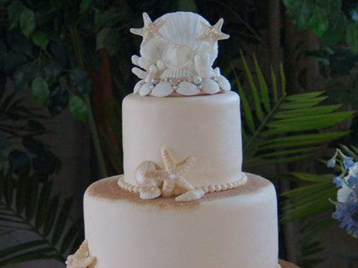 Tmx 1281052066158 ShellCake01 Ramona, CA wedding cake