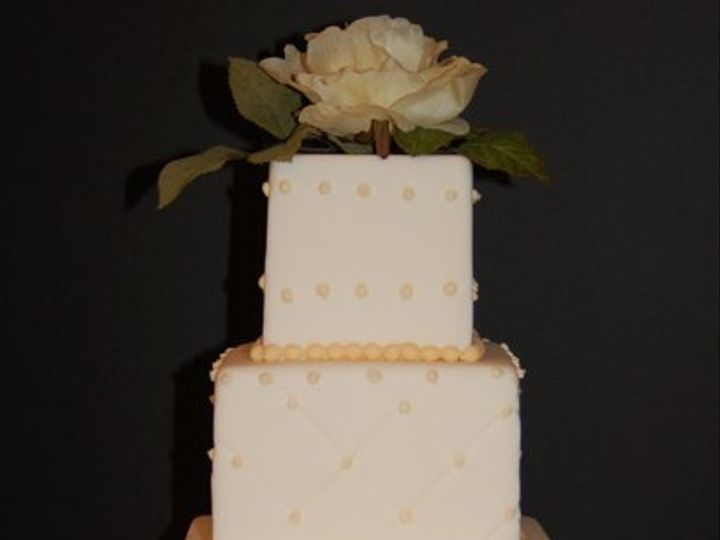 Tmx 1281052066986 YellowCake02 Ramona, CA wedding cake