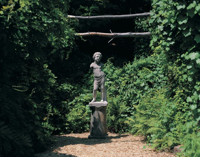 Codman Estate Carriage House and Gardensstatue