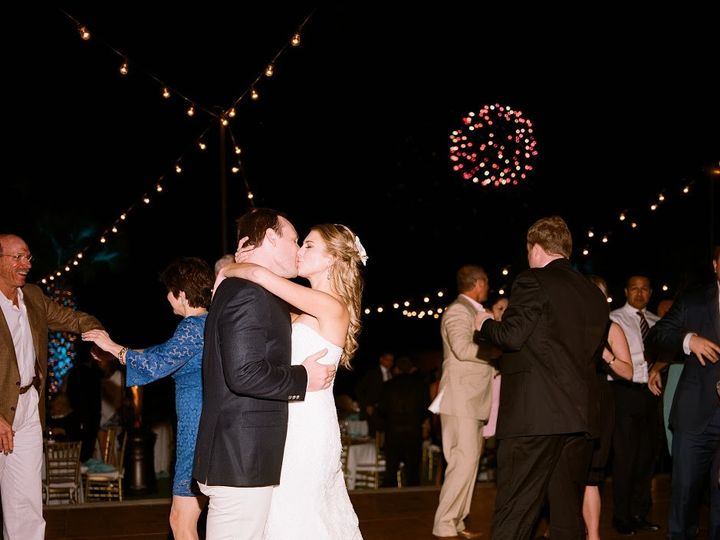 Tmx 1499366592280 Bg Kissing With Fireworks Jwilkinson Horseshoe Bay, TX wedding venue