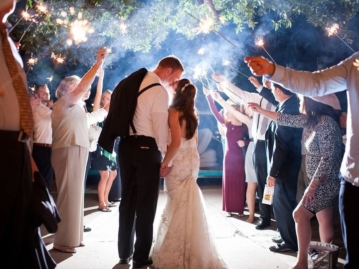 Tmx 1499366608206 Bg Walking Thru Sparklers Jwilkinson Horseshoe Bay, TX wedding venue