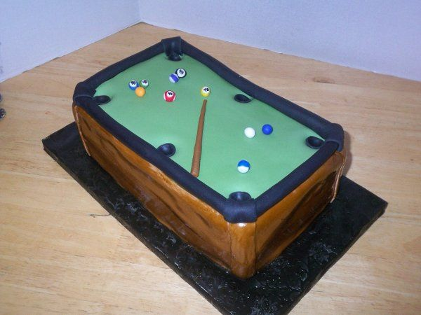 Tmx 1257287813485 PoolTable Garner wedding cake