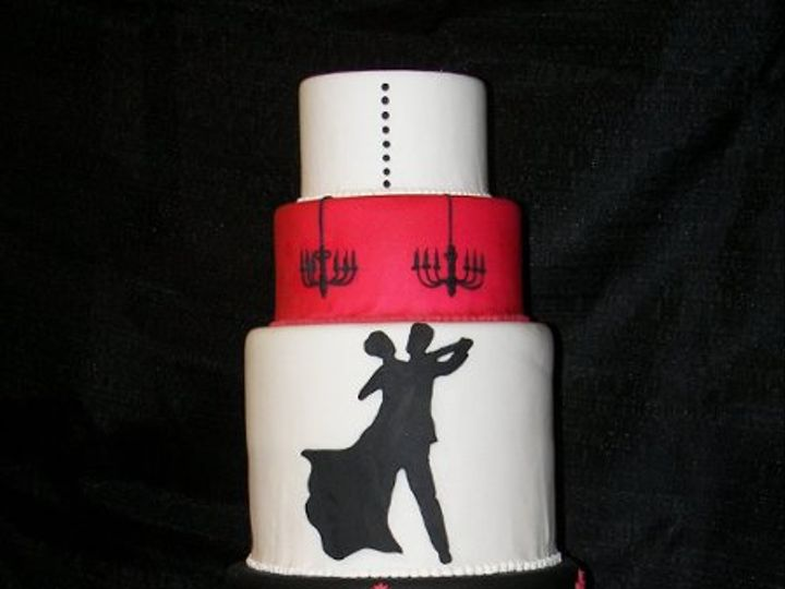 Tmx 1263688277733 1006019 Garner wedding cake