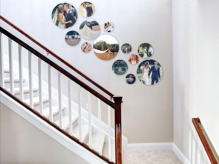 Stair Wall Art Design
