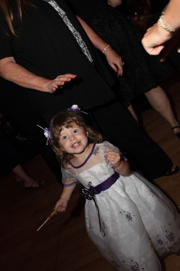 Kid at the wedding
