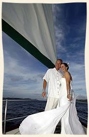 Sail away from St. Thomas and have your wedding on the boat or a beautiful beach. You can get...