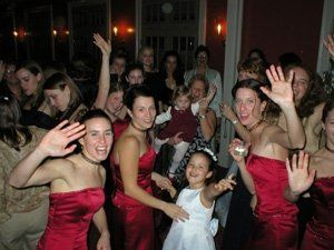 Partying ladies