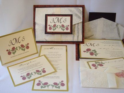 You could have an elegant Award Winning invitation like this one designed just for you and your...