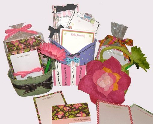 Need a gift in a hurry?? Our personalized stationery gift items and baskets are just the answer!...