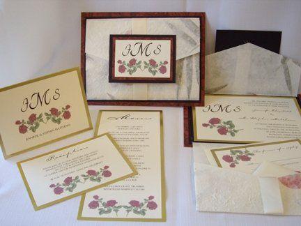 Tmx 1222814288258 ROSEWEDDINGINVITATION Natick wedding invitation
