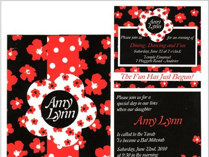 Tmx 1268833759848 AMYLYNNRWB Natick wedding invitation