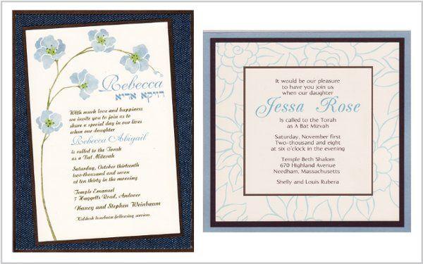 Tmx 1268833873582 BATMITZVAH2STYLES Natick wedding invitation
