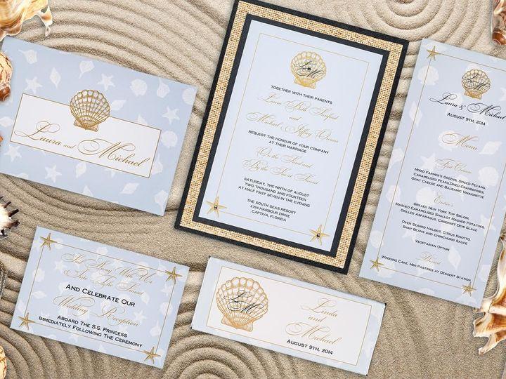Tmx 1479859238623 Beach Ensemble Natick wedding invitation