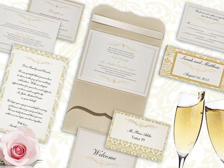 Tmx 1479859475510 Sarah And Matt Ensemble Natick wedding invitation