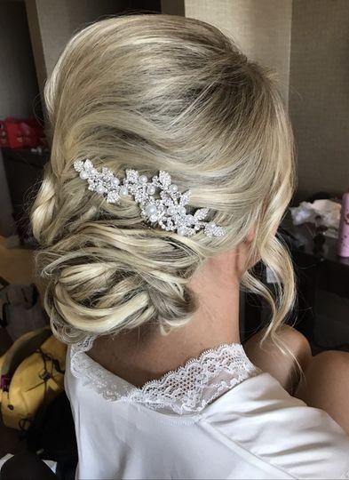 Sparkling hairpiece