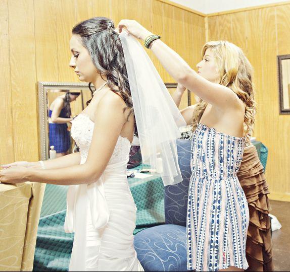 Bride Katie