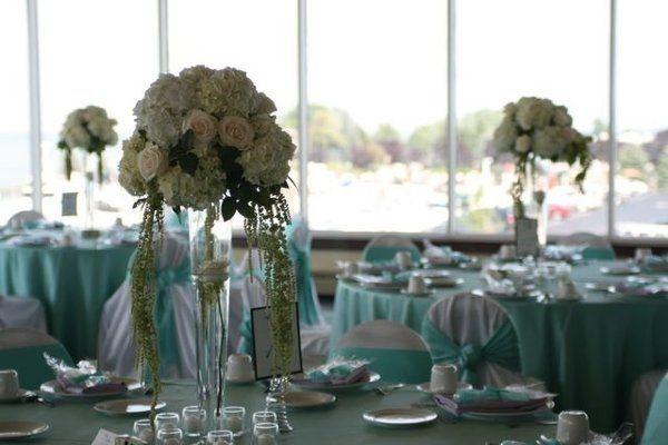 Tiffany Blue Wedding Receptions