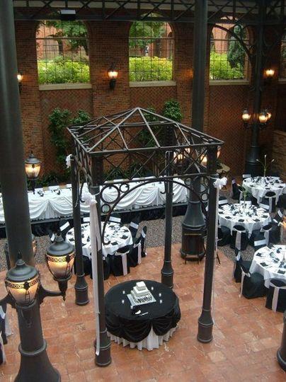Black and white weddings, The Inn at St. John's
